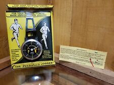 Vintage 1970s-80s K & R Precise Pedometer Adjustable Mechanical  Made in The USA