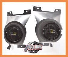 2011-2014 Ford F150 LOBO Bumper Fog Lights Driving morimoto 5500K bumper bezels