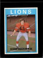 1972 O-PEE-CHEE CFL #44 GEORGE ANDERSON EXMT  *X2124