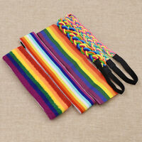 1 Pc Gay LGBT Pride Hairband Rainbow Headband Striped Casual Unisex Accessories