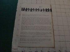Vintage original paper: AMIC association for Mentally Ill Children in Manhattan