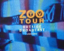 Vtg. 1992 U2 Zoo Tv Outside Broadcast: Achtung Baby Tour Concert Program Book