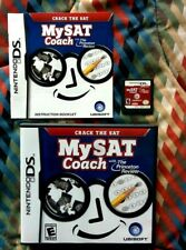 USED Nintendo DS University College Prep MY SAT COACH Education Game COMPLETE