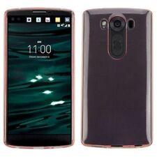 Étuis, housses et coques roses métalliques pour téléphone mobile et assistant personnel (PDA) LG