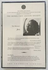 Jazz by Toni Morrison - Signed Limited Edition