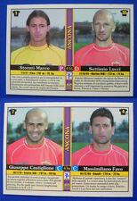 CARD MUNDICROMO CALCIO 2001 n.436 - ANCONA
