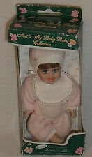 """Barbara Lee Doll Petite Porcelains 5"""" That's My Baby In Box BL3B Vtg"""