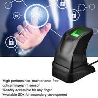 USB Fingerprint Reader Scanner Sensor Fingerprint Collection for PC Home Office