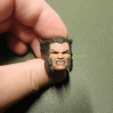 "Painted Service 1/12 Wolverine Logan Hugh Jackman Angry Head Sculpt 6"" ML One:12"