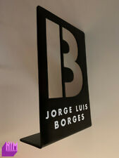 Literary Jorge Luis Borges Metal Single Bookend