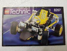 MANUALE ISTRUZIONI LEGO 8207 TECHNIC DUNE BUGGY - ONLY MAN UAL