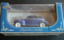 Signature Models 1940 Plymouth 1/32 Car NOS in box