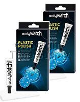 2 pcs  SCRATCH REMOVER POLY WATCH PLASTIC POLISH