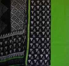 Cotton Bagru dress material for Salwar kameez Latest design - Lotus