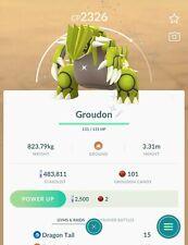 🌋POKEMON GO SHINY🌋✨ - GROUDON (Registered or 30 Days)