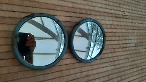 2 x Vintage Lorry Truck Eversure Mirrors