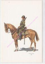 CP MILITARIA J DEMART Costumes Militaires 2e lanciers soldat tenue campagne 1918