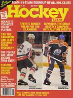 1981-82, Hockey Scene Annual Magazine, Wayne Gretzky, Edmonton Oilers,Mike Bossy