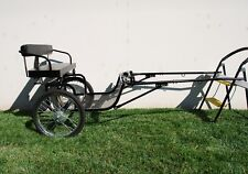 """New Easy Entry Horse Cart - Mini Size/Metal Floor - With 48""""/55"""" Shafts - NIB"""