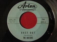 KILLER INSTRUMENTAL ROCKER 45 - THE BUSTERS - BUST OUT / ASTRONAUT'S - ARLEN 735