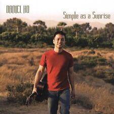 New Sealed Contemporary Hawaii CD Daniel Ho - Simple As A Sunrise oop