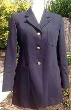 DAKS Signature Navy Blue Blazer Jacket Size UK14 EU42 EXCELLENT CONDITION