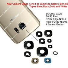 Genuine Glass Camera Lens Part For Samsung Galaxy S5 S6 S7 S8  Note 4 J1  N5 S9