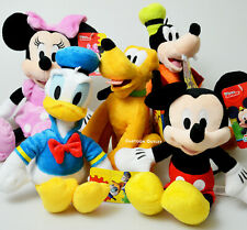 Disney Mickey Mouse Plush Stuffed Animal Doll Toy Minnie Mouse Goofy Donald Duck