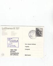 Lufthansa B 727 Köln/Bonn-Francoforte 1980