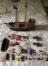Playmobile gran barco pirata con personas