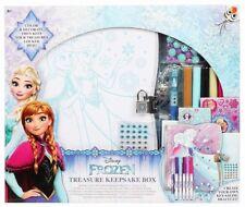 Disney Frozen Elsa Anna Keepsake Box Stationery Set Bracelet Stickers Gel Pen