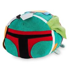 "BOBA FETT TSUM TSUM 11"" STAR WARS PILLOW PLUSH DISNEY STORE NWT"