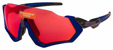 Oakley Flight Jacket Sunglasses OO9401-1837 Matte Navy | Prizm Trail Torch Lens