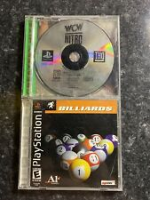 WCW Nitro and Billiards PS1
