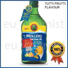 MOLLER'S Mollers Cod Liver Oil OMEGA-3 -TUTTI FRUTTI Taste - Children & Adults