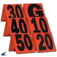 Champro Sports® Weighted High Vis Collapsible Football Sideline Yard Markers