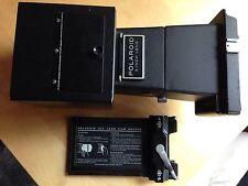 "Polaroid 4x5 Land Camera 3"" lens and 6"" hood w/ Polaroid 545 Instant film holder"