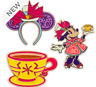 Disney Store Minnie Mouse The Main Attraction Pin Set, 3 of 12 Mad Tea Party