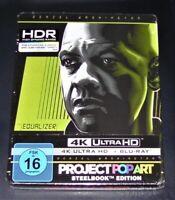 The Égaliseur 4K Ultra HD blu ray + Limitée steelbook Neuf & Emballage D'Origine