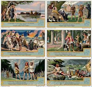 Chromo Liebig Sang. 1246 ITA Leggende Storiche della Svizzera ANNO 1931
