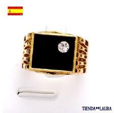 Anillo hombre con oro amarillo 18kgf talla 9 usa en caja de regalo desde Spain.