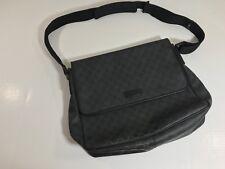Gucci GG Leather Messenger Bag Mens/Woman's Purse Strap Shoulder