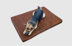 Buy 2 Discount Durable Suede Waterproof Orthopedic MEMORY FOAM Dog Bed Pad XL