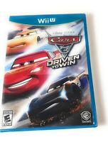 Cars 3: Driven to Win for Nintendo Wii U Brand New Sealed