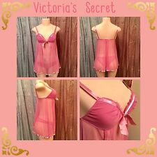 Victoria's Secret Angels Pink Babydoll + Undies, NWOT