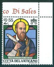 2017 Vatican City Sc# 1669, St. Francis de Sales MNH