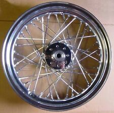 "16"" Chrome Rear Wheel fits Early Harley Sportster"