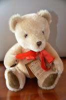 Sammlerstück:Original 2444 Hermann Teddy, beige,wie NEU, 30cm wackelt mit Kopf