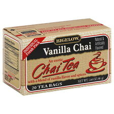 BIGELOW Special Blend Vanilla Chai Tea 20 Count 1.64 Oz(Pack of 3)