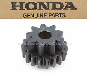 Starter Reduction Gear 06-14 TRX450ER Sportrax 9T/19T Honda New OEM #T131